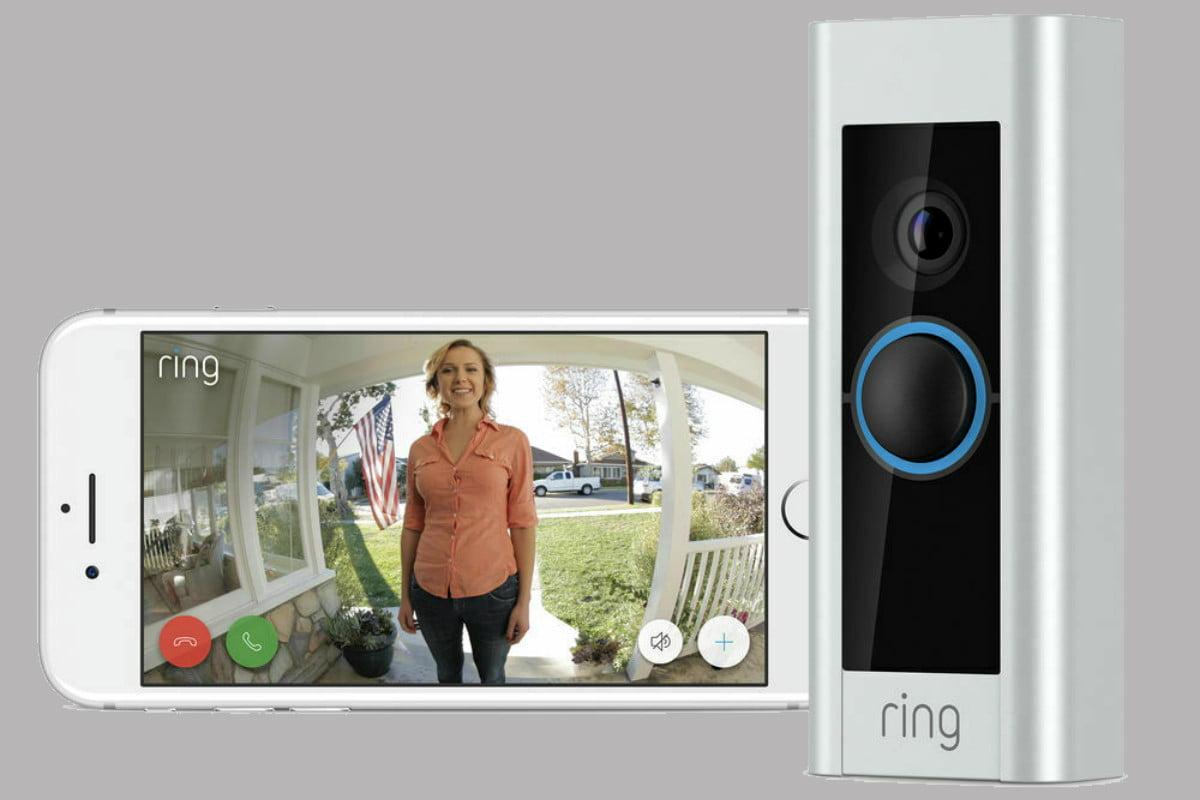 Ring Video Doorbel Pro avec communication bidirectionnelle